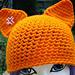 Anime Cat Hat pattern