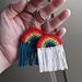 Amigurumi Rainbow Keychain pattern