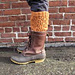 Let it Snow Boot Toppers pattern