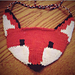 Fox Face Baby Bib pattern