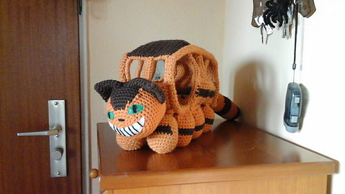 How To Crochet A Cat Bus Free Pattern - YouTube | 281x500