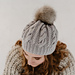 Kinnego Cable Knit Pompom Hat pattern