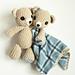 Teddy Bear & Teddy Lovey pattern