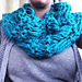 Drop Stitch Fashion Cowl pattern