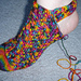 Cabled Crochet Socks pattern