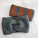 Simple Tunisian Crochet Ear Warmer pattern
