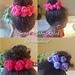 Sugar Baby Roses Scrunchies pattern