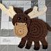 Finnley the Baby Moose pattern