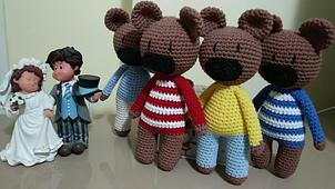 Ayı Teddy Yapımı Amigurumi - #5 (Crochet Amigurumi Teddy Bear ... | 170x302