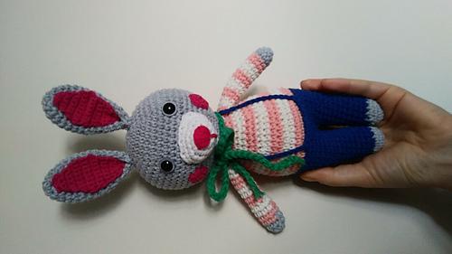 Amigurumi Örgü Uzun Kulaklı Tavşan Modeli Yapılışı ( Anlatımlı ... | 281x500