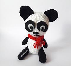 Amigurumi Türkiye-Panda Yastık Tarifi | 224x240