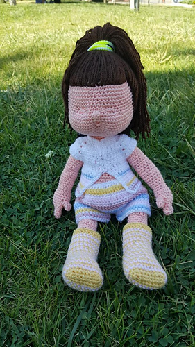 Amigurumi Miniş Bebek Tarifi | Baby knitting patterns, Amigurumi ... | 500x281