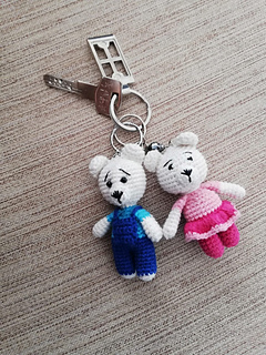 Bebek Anahtarlık Tarifi / Baby Keychain Pattern | Kroşe, Amigurumi ... | 320x240