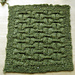 Gateposts 10-Inch Afghan Square pattern