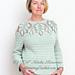 Leaf Yoke Sweater pattern