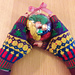 Christmas Bauble Mitts pattern