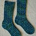Green River Socks pattern