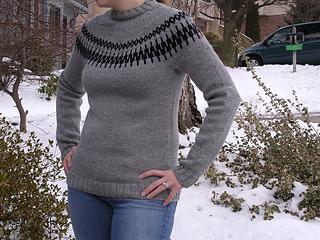 Seamless Yoke Sweater