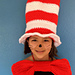 Cat In The Hat - Hat and Bow Tie pattern