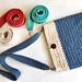 Crossbody Strap - Thermal Stitch pattern