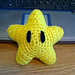 Super Mario Invincibility Star pattern