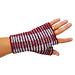 Shadow fingerless gloves pattern