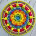 Hexie Splash Mandala pattern