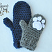 Un'bear'ably Cute Mittens pattern