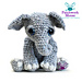 Amigurumi Elephant  - Tilly pattern