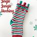 Jingle Jangle Stocking pattern