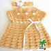Shelly Dress & Headband 12-109 pattern