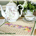 MOMogram Dish towel 15-184 pattern