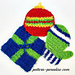 Holiday Scrubbies pattern