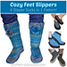 Cozy Feet Slippers 12-092 pattern
