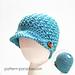 Bean Town Beanie & Messy Bun Hat pattern