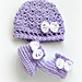 Georgie Hat and Bootie Set pattern