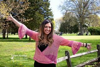 Julia Cardi Sweater by Pattern Paradise