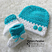 Snug As A Bug Hat And Booties pattern