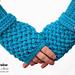 Criss Cross Fingerless Gloves pattern