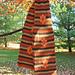Autumn Flower Scarf pattern