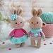 Cute little bunnies pattern