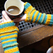 Bumble Bee Mitts pattern