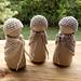 Peg Doll Mama Shawl pattern