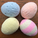 4 x Easter Eggs pattern