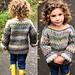 Rustic sweater pattern