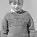Child's Staithes Guernsey pattern