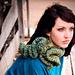 Francesca Ruffled Neck Cowl pattern