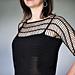 Brigitte Lace Tee pattern