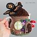 Fairy Acorn Tea Cozy pattern