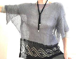 Knitted with Yarnz2go Linen yarn